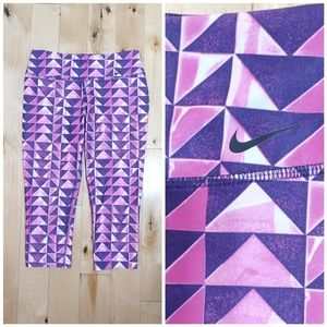 Nike Dri-Fit pink & purple activewear bottoms